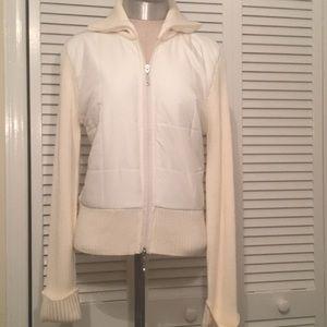 White House Black Market Zip Sweater Jacket